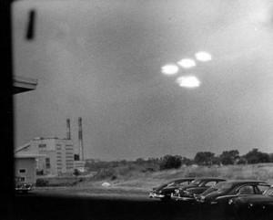 НЛО в виде светящихся объектов